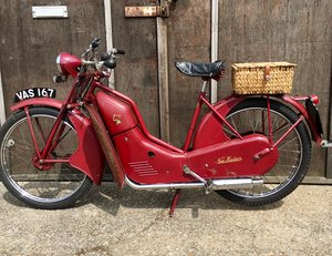 Excellent New Hudson 98cc Autocycle 1956