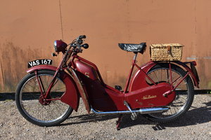 Lot 151 - A 1956 New Hudson Autocycle - 10/08/2019 SOLD by Auction