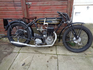 1927 New hudson 500 cc popular e 7 flat tanker For Sale