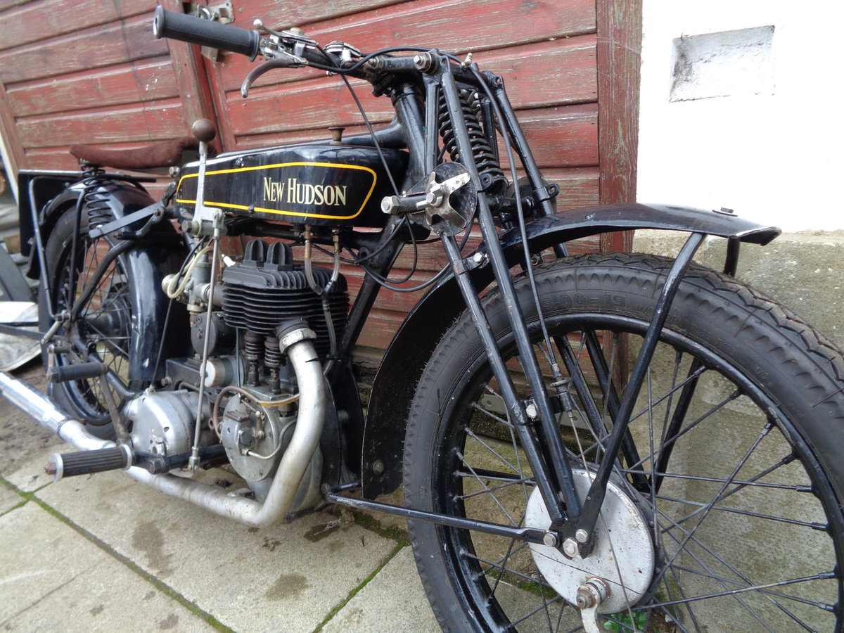 1927 New hudson 500 cc popular e 7 flat tanker SOLD (picture 5 of 6)
