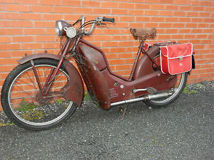 New Hudson AutoCycle 98cc Manufactured 1958 For Sale