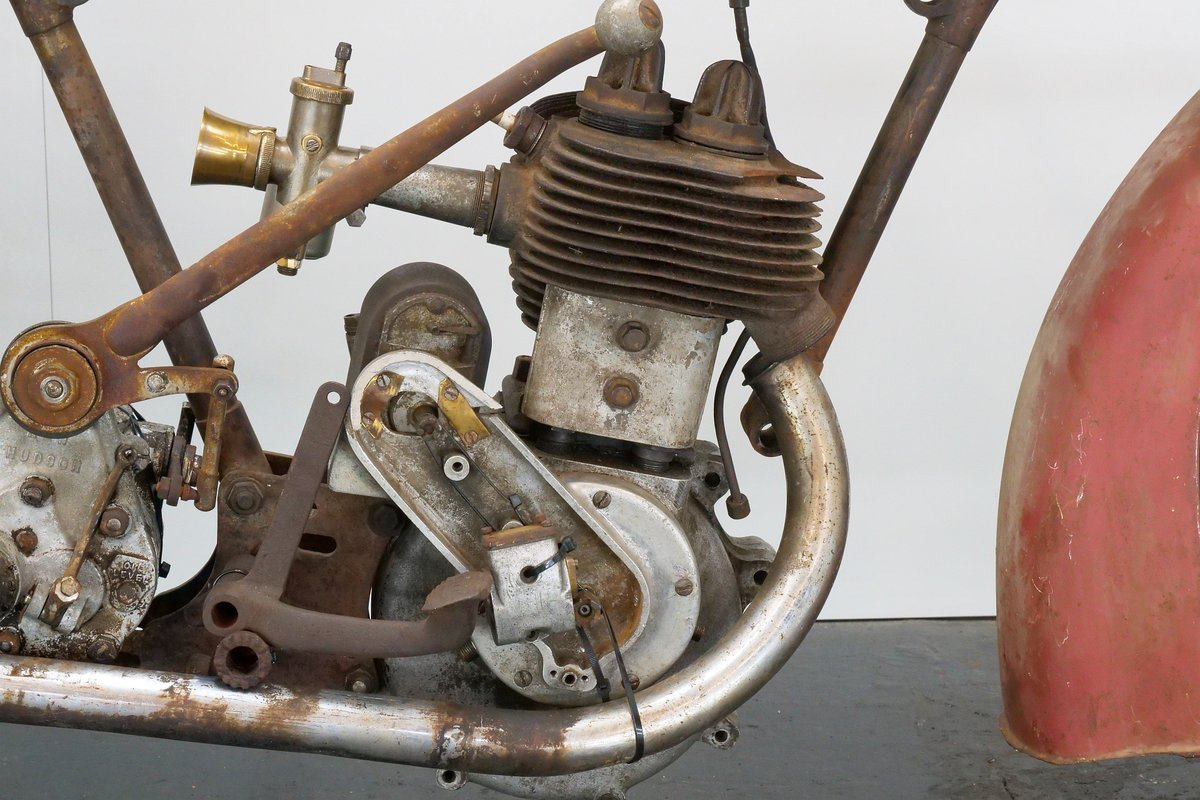 New Hudson Model 84 1928 500cc 1 cyl sv For Sale (picture 5 of 6)