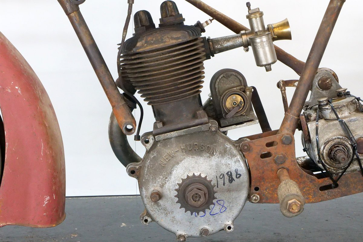 New Hudson Model 84 1928 500cc 1 cyl sv For Sale (picture 6 of 6)