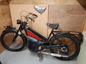 Picture of 1950 New Hudson autocycle