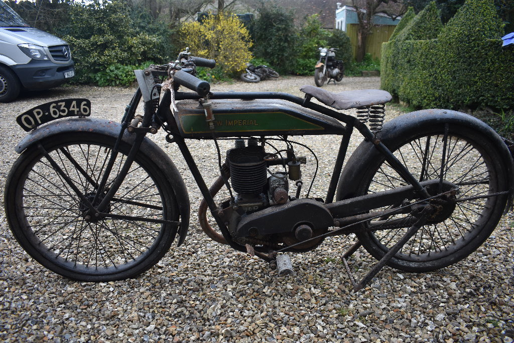 1927 New Imperial - 06/05/20 SOLD by Auction (picture 5 of 6)