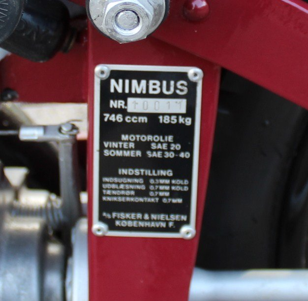 1951 Nimbus 750 cc In Line Four Restored  EXCELLENT SOLD (picture 7 of 26)