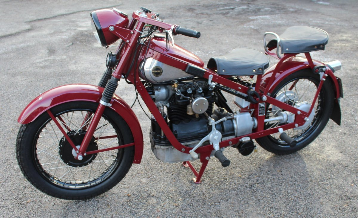 1951 Nimbus 750 cc In Line Four Restored  EXCELLENT SOLD (picture 9 of 26)