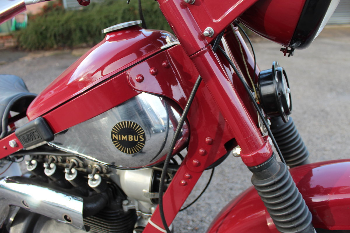 1951 Nimbus 750 cc In Line Four Restored  EXCELLENT SOLD (picture 13 of 26)
