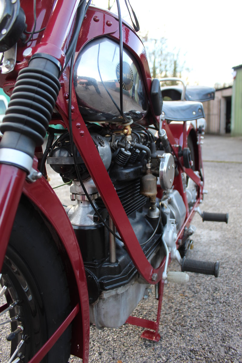 1951 Nimbus 750 cc In Line Four Restored  EXCELLENT SOLD (picture 14 of 26)