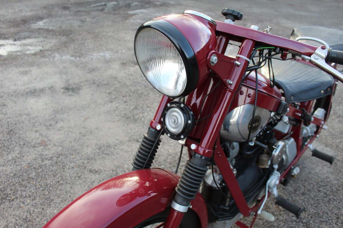 1951 Nimbus 750 cc In Line Four Restored  EXCELLENT SOLD (picture 15 of 26)