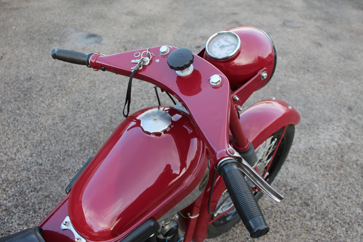 1951 Nimbus 750 cc In Line Four Restored  EXCELLENT SOLD (picture 16 of 26)