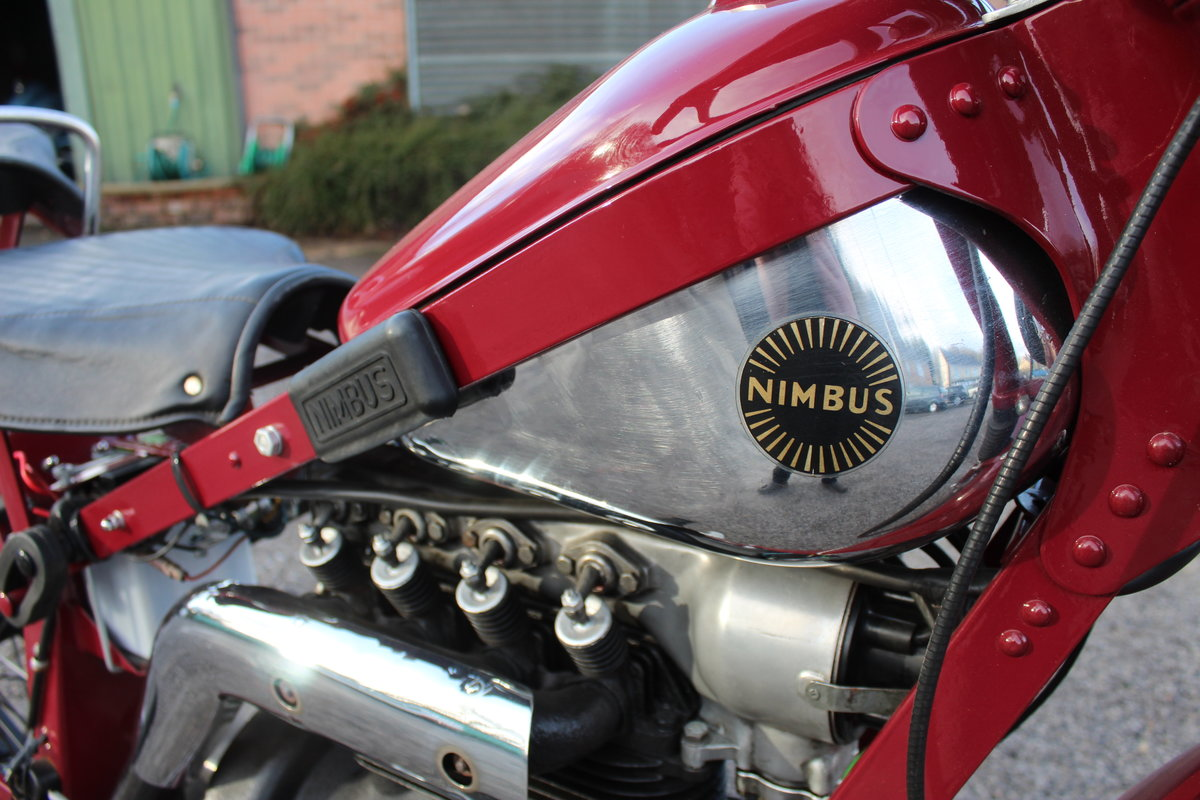 1951 Nimbus 750 cc In Line Four Restored  EXCELLENT SOLD (picture 17 of 26)