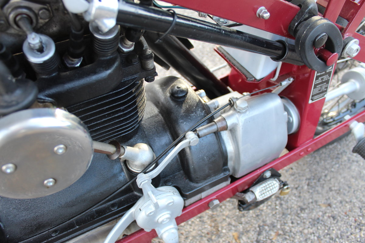 1951 Nimbus 750 cc In Line Four Restored  EXCELLENT SOLD (picture 20 of 26)