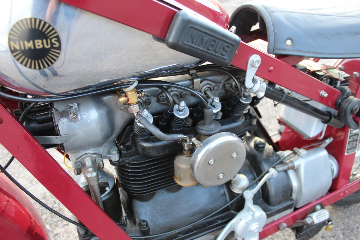 1951 Nimbus 750 cc In Line Four Restored  EXCELLENT SOLD (picture 21 of 26)