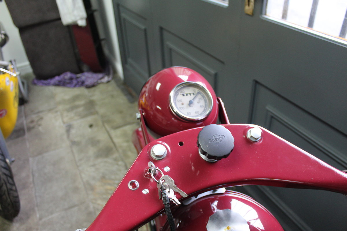 1951 Nimbus 750 cc In Line Four Restored  EXCELLENT SOLD (picture 22 of 26)
