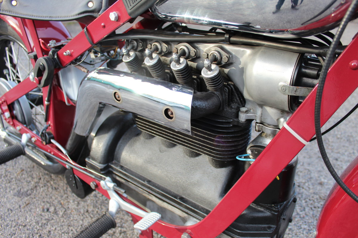 1951 Nimbus 750 cc In Line Four Restored  EXCELLENT SOLD (picture 23 of 26)