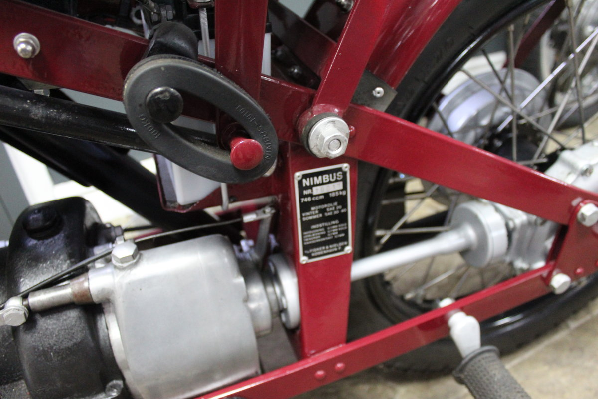 1951 Nimbus 750 cc In Line Four Restored  EXCELLENT SOLD (picture 24 of 26)