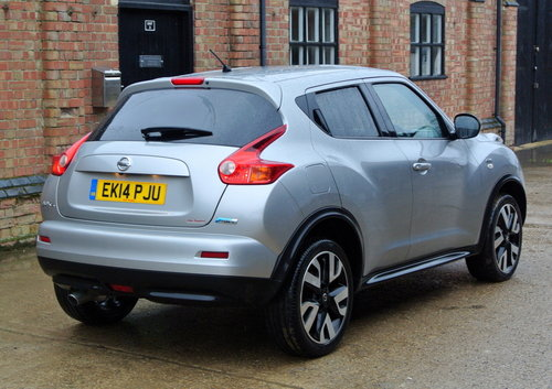 Nissan Juke 1.5dCi 110ps N Tec 2014 For Sale (picture 2 of 6)