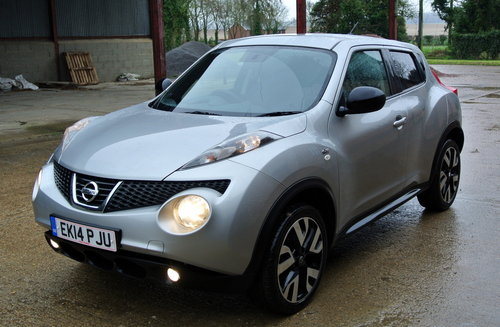 Nissan Juke 1.5dCi 110ps N Tec 2014 For Sale (picture 3 of 6)