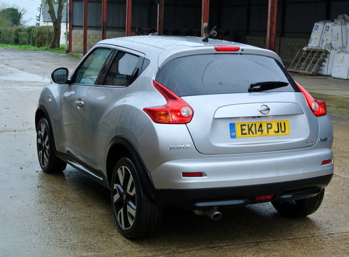Nissan Juke 1.5dCi 110ps N Tec 2014 For Sale (picture 4 of 6)
