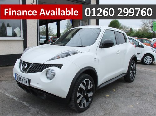 2014 NISSAN JUKE 1.5 DCI N-TEC 5DR SOLD (picture 1 of 6)