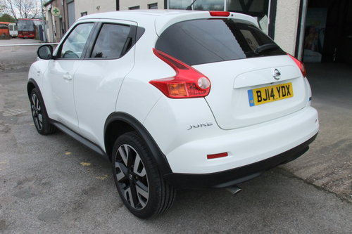 2014 NISSAN JUKE 1.5 DCI N-TEC 5DR SOLD (picture 3 of 6)