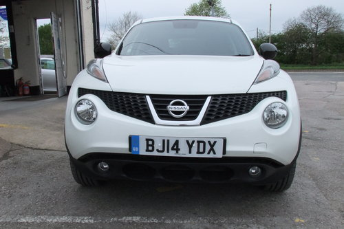 2014 NISSAN JUKE 1.5 DCI N-TEC 5DR SOLD (picture 4 of 6)