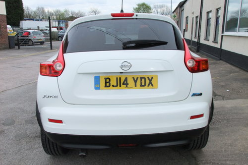 2014 NISSAN JUKE 1.5 DCI N-TEC 5DR SOLD (picture 5 of 6)