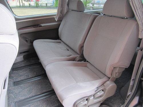 2001 NISSAN ELGRAND 3.5 AUTOMATIC 8 SEATER CAMPER 23000 MILES For Sale (picture 4 of 6)