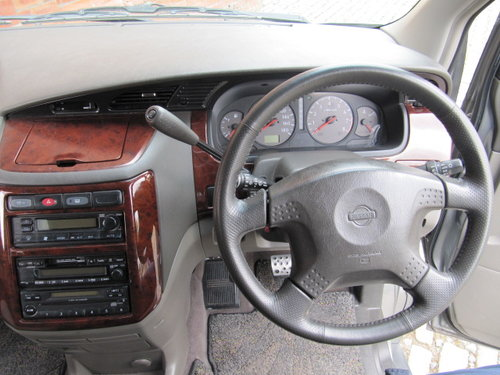 2001 NISSAN ELGRAND 3.5 AUTOMATIC 8 SEATER CAMPER 23000 MILES SOLD (picture 6 of 6)