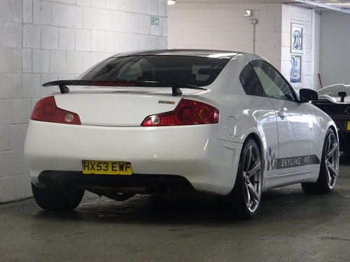 2003 Nissan Skyline 3.5 2dr NISSAN SKYLINE R35 GT 3.5 V6 For Sale (picture 4 of 6)