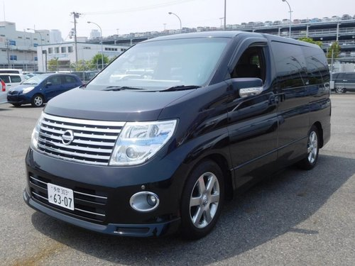 2005 Nissan Elgrand Highway Star 3.5i V6 Auto For Sale (picture 1 of 6)