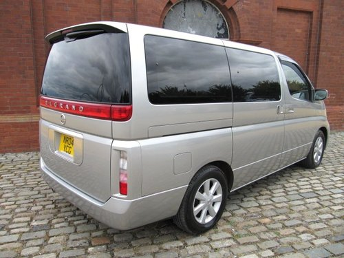 NISSAN ELGRAND 2004 3.5 AUTOMATIC 8 SEATER CAMPER For Sale (picture 2 of 6)