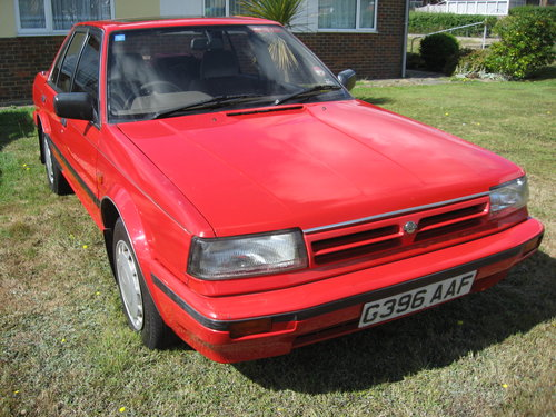 1989 Nissan Bluebird 1.8GS Auto For Sale (picture 1 of 6)