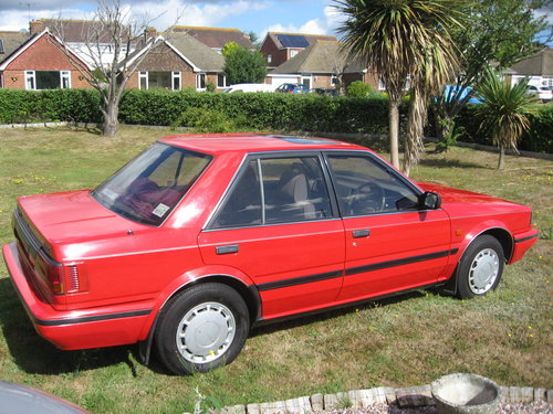 1989 Nissan Bluebird 1.8GS Auto For Sale (picture 2 of 6)