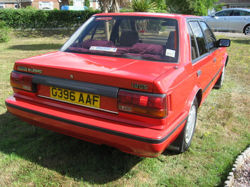 1989 Nissan Bluebird 1.8GS Auto For Sale (picture 3 of 6)