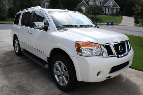 2007 Armada SUV by Nissan - Only one in Western Europe For Sale (picture 2 of 6)
