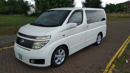 2003 NISSAN ELGRAND HIGHWAY STAR – 60,000 MILES £4995  SOLD (picture 1 of 6)