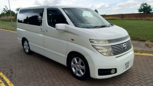 2003 NISSAN ELGRAND HIGHWAY STAR – 60,000 MILES £4995  SOLD (picture 2 of 6)
