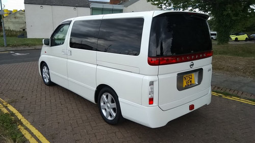 2003 NISSAN ELGRAND HIGHWAY STAR – 60,000 MILES £4995  SOLD (picture 3 of 6)