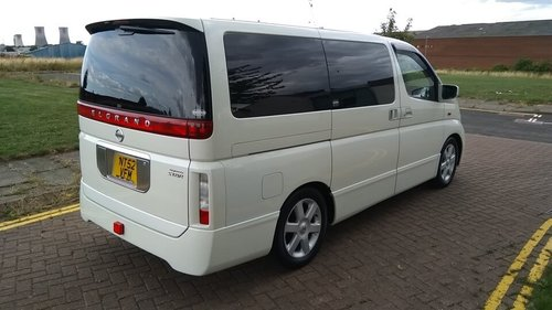 2003 NISSAN ELGRAND HIGHWAY STAR – 60,000 MILES £4995  SOLD (picture 4 of 6)