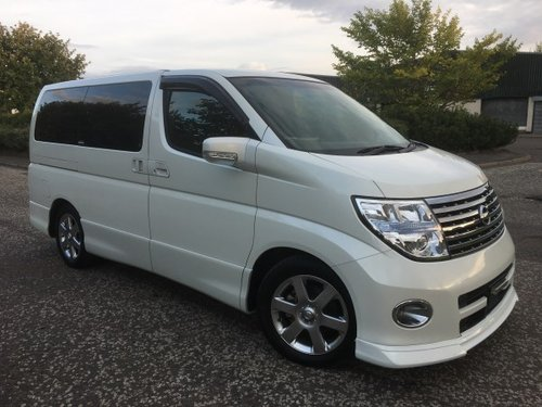 2006 Fresh Import Nissan Elgrand Highway Star 3.5 V6 Auto For Sale (picture 1 of 6)
