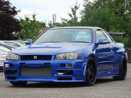 Nissan Gtr R34 For Sale >> 1998 Nissan Skyline 2 5 2dr R34 Gt T Turbo R34 Gtr Replica For Sale
