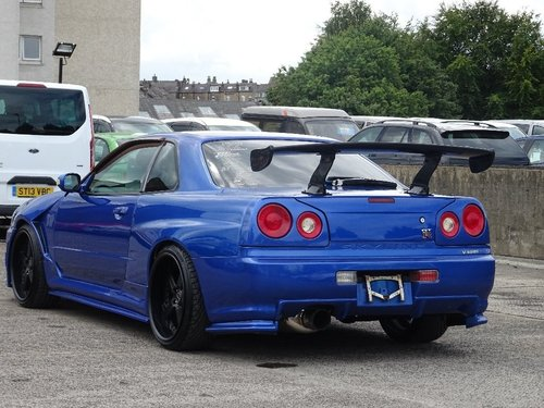 1998 Nissan Skyline 2.5 2dr R34 GT-T TURBO R34 GTR REPLICA For Sale (picture 2 of 6)