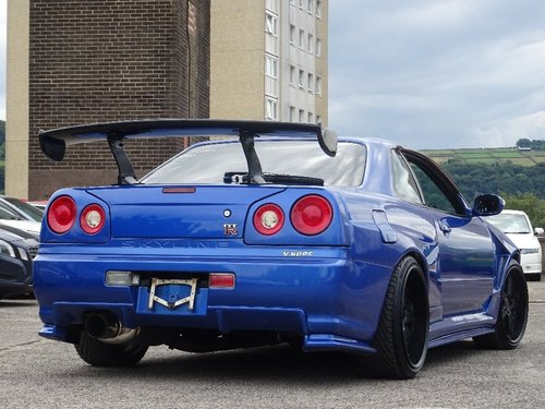 1998 Nissan Skyline 2.5 2dr R34 GT-T TURBO R34 GTR REPLICA For Sale (picture 3 of 6)