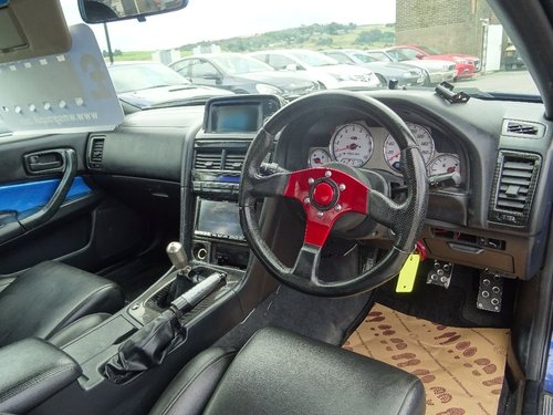 1998 Nissan Skyline 2.5 2dr R34 GT-T TURBO R34 GTR REPLICA For Sale (picture 4 of 6)