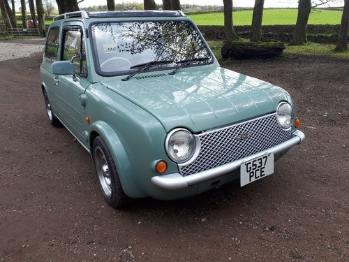1989 Nissan Pao Auto electic roof immaculate full mot For Sale (picture 1 of 6)