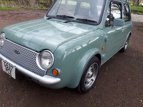 1989 Nissan Pao Auto electic roof immaculate full mot For Sale (picture 6 of 6)
