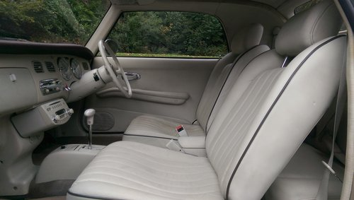 Nissan Figaro.. Rare Topaz Mist.. Low Miles.. Nice Example SOLD (picture 3 of 6)
