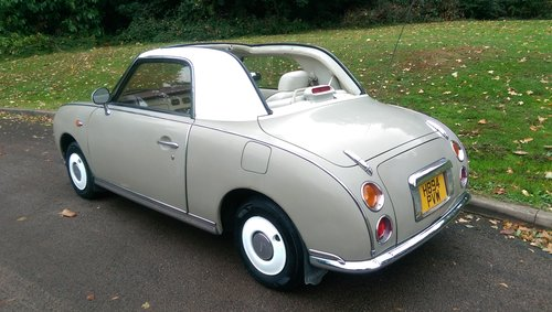 Nissan Figaro.. Rare Topaz Mist.. Low Miles.. Nice Example SOLD (picture 5 of 6)
